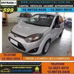 Fiesta Hatch 2013 Completo Parcelas de 599 reais ao mês