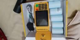 Máquina de cartão pagsegurp