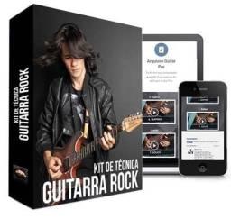 Curso kit de técnica guitarra rock