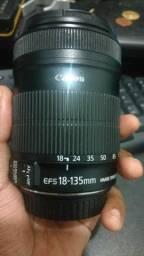 Lente 18-135 Canon