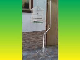 Gaiola Para Canário Belga com suporte, usado comprar usado  Rio de Janeiro