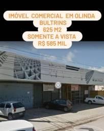 Imovel comercial em Olinda com 625 m2 em excelente localização