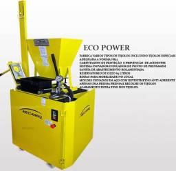 Maquina De Tijolo Ecologico Semi Automatica Eco Power 125