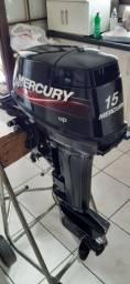 Motor de popa mercury 15 hp super (18 hp)