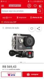 Câmera 4k EKEN luxo de mais aprova de água
