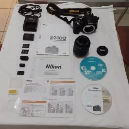 Câmera digital Nikon 3100 + itens inclusos. Usada somente 5 vezes