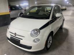 Fiat 500 2014 cult dualogic apenas 39.000 km muito novo 0bs:taxa de 1% no cartao