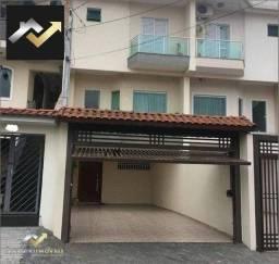 Sobrado com 3 dormitórios à venda, 160 m² por R$ 750.000 - Vila Floresta - Santo André/SP