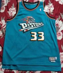 Camisa Adidas NBA Hardwood Classics Detroit Pistons GG/XL