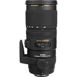 Lente Sigma 70 200mm f/2.8