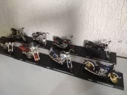 Miniaturas de moto Harley Davison