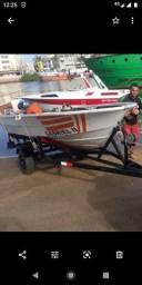 Vendo barco e carretinha junto