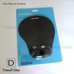 Mousepad Multilaser Apoio Ergonômico Gel Para O Punho