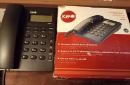 Título do anúncio: Telefone fixo Keo novo na caixa