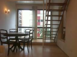 Apartamento à venda com 1 dormitórios em Itaim bibi, São paulo cod:REO11338