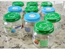 Vendo Potes de vidro 120g