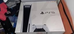 Ps5 com caixa completo e muitos jogos