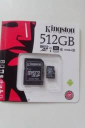 Cartão de memoria kingstom 512 GB