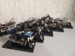 Miniatura moto Harley Davison
