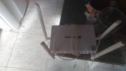 Roteador de 4 antena 100 reais