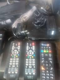 5 roteadores e 1 telefone