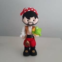 Pirata em feltro