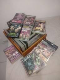 Título do anúncio: Coleção de DVD UFC e Pride