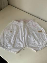 Short  Lilica Ripilica branco
