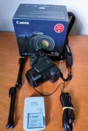 Canon PowerShot SX520 HS - Na caixa