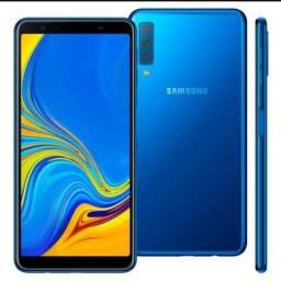 Título do anúncio: Samsung A7 64 giga 2018