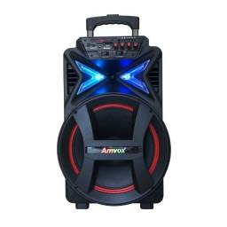 Título do anúncio: Caixa de Som Amplificada ACA 400 Strondo Amvox