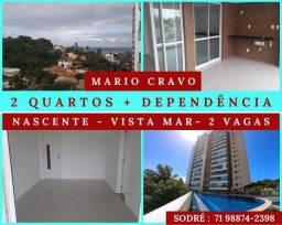 Residencial Mário Cravo 3/4 com dependência completa - varanda gourmet - Impressionante