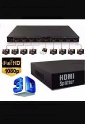 Splitter HDMI 8 saídas