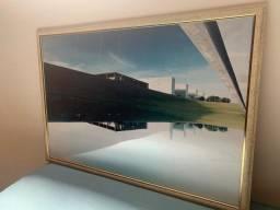Quadro decorativo com imagem de Brasília