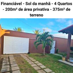 Casa padrão sol da manhã em Guriri Norte, São Mateus! Cód. 3432