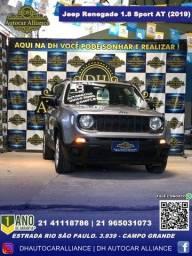 Título do anúncio: Jeep Renegade 2019 1.8 16v flex sport 4p automático