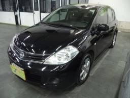 Título do anúncio: Nissan Tiida SL 1.8 16v Flex Autom Completo Teto Couro 2010 Preto
