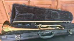 Trombone Tenor Yamaha YSL-620. Profissional. Semi-novo.