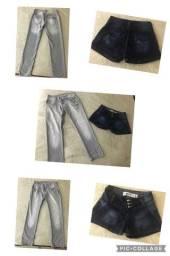 Desapego de 2 peças jeans femininas da loja Marisa