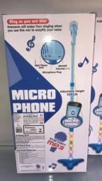 Título do anúncio: microfone infantil azul