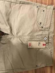 Calça Jeans Masculina Levis 510 Original, Bege, 42 *NOVA