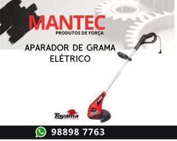 aparador de grama elétrico