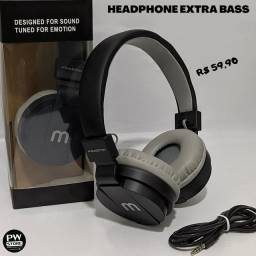 Headphone ExtraBass - Loja PW STORE