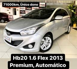 Título do anúncio: Hb20 1.6 Premium 2013 Automático 71000km