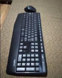Teclado e Mouse Logitech Mk345 S/ Fio
