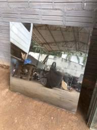 Vidro refleta 10mm