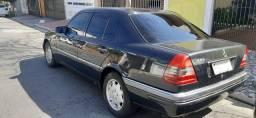 Mercedes C280 1995 Preta 2º Dono