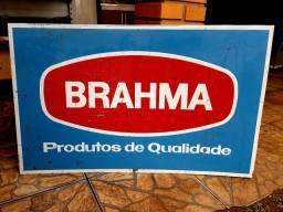 Placa Antiga Brahma
