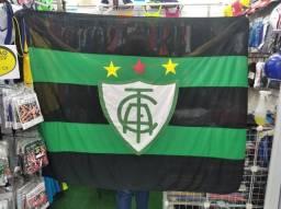 Título do anúncio: Bandeira grande de time ATACADO e VAREJO