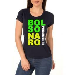 Camiseta Feminina  Bolsonaro